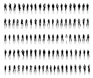 5765-vector-silhouettes-of-men-and-women-a-variety-of-professional-material-1